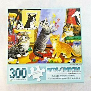 Bits And Pieces STUDIO KITTENS 300 PC Puzzle